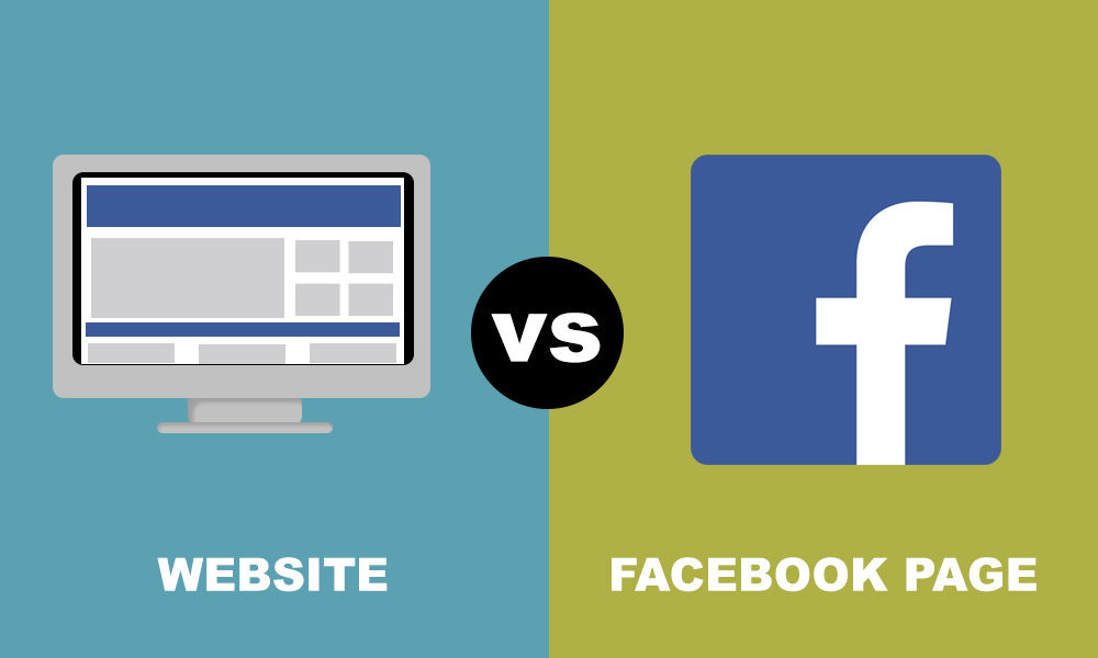 Social Media vs Website